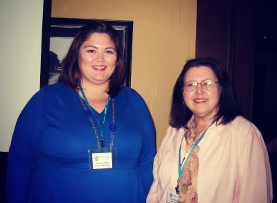 Me and NAWBO Lexington President-Elect Rhonda Bartlett